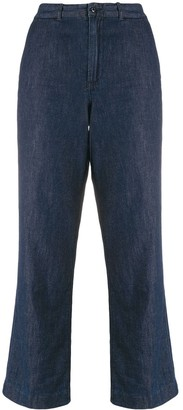 Polo Ralph Lauren High-Rise Cropped Leg Jeans