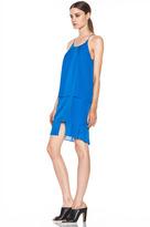 Acne Studios Satya Tape Dress in Klein Blue