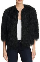 Theory Faux Fur Open-Front Jacket