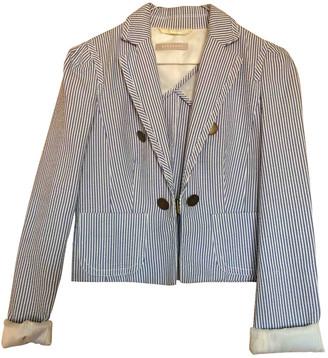 Stefanel White Polyester Jackets