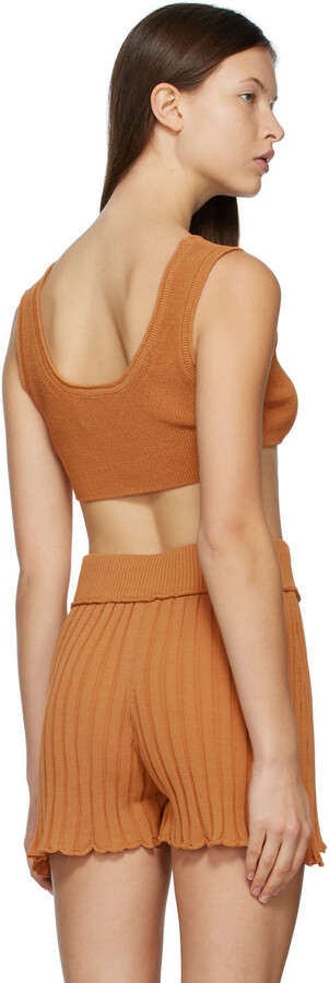 Thumbnail for your product : RUS SSENSE Exclusive Tan Aurore Bralette