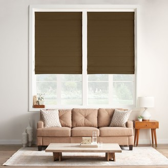 "Sonoma Goods For Life Custom Insulating Cordless Roman Shade - 72"" Length"