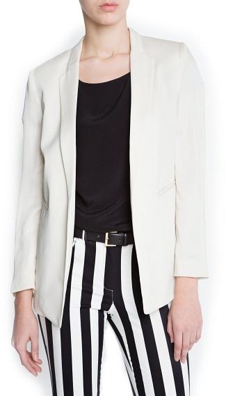 MANGO Minimalistic blazer
