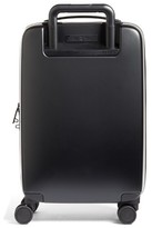 Raden The A22 22 Inch Charging Wheeled Carry-On Suitcase - Black