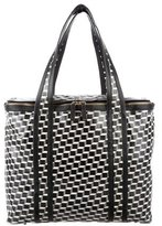 Pierre Hardy Printed Leather Tote