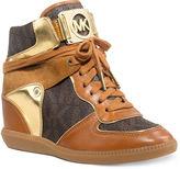 MICHAEL Michael Kors Nikko High Top Wedge Sneakers