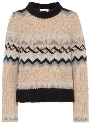 See by Chloe Alpaca and wool blend sweater