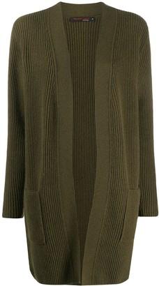 Incentive! Cashmere Ribbed Cashmere Cardi-Coat