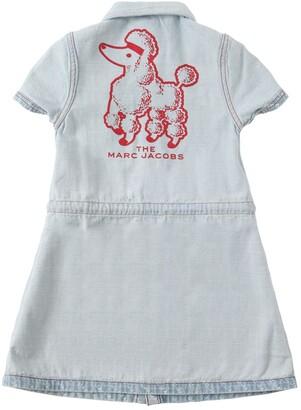 Little Marc Jacobs Reversible Light Denim Dress