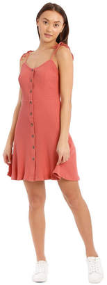 Miss Shop Essentials Button Front Skater Dress