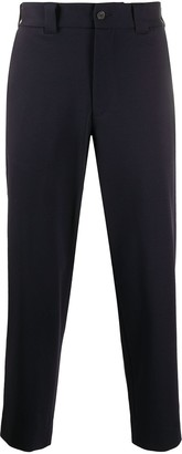 Harris Wharf London Cropped Tapered Leg Trousers