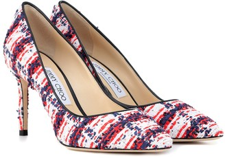 Jimmy Choo Exclusive to Mytheresa Romy 85 tweed pumps