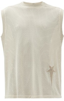 Rick Owens X Champion Technical-mesh Tank Top - Mens - Beige