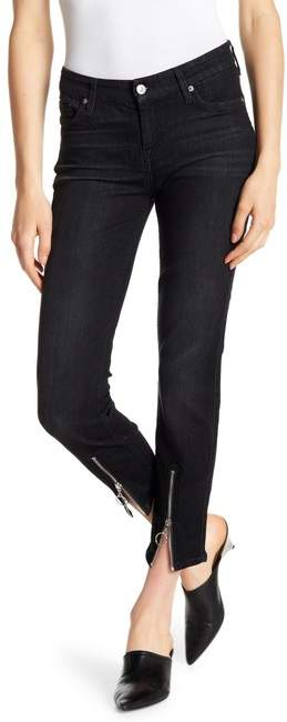 7 For All Mankind Roxanne Zip Ankle Jeans