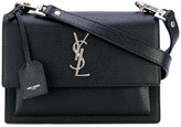 Saint Laurent Monogram shoulder bag - women - Goat Skin - One Size