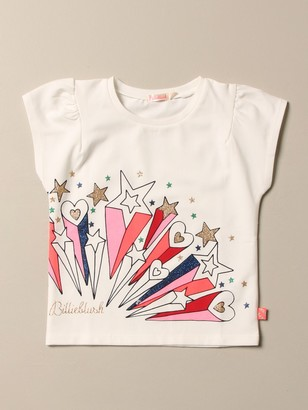 Billieblush T-shirt With Hearts And Stars