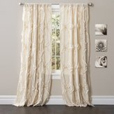 Lush Decor Avon Window Curtain, Ivory, 84 x 54