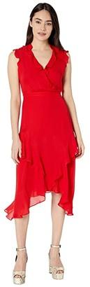 Parker Atlanta Dress (Monaco Red) Women's Clothing