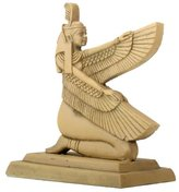 Summit 2.75 Inch Tan Colored Hieroglyphic Maat Spreading Her Wings Figurine