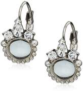 Sorrelli Sorelli Petite Oval Semi-Precious French Wire Drop Earrings