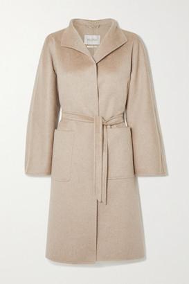Max Mara Lilia Belted Cashmere Coat - Camel