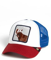 Goorin Bros. Men's Brothers 'Animal Farm - Hickory Stick' Trucker Hat - Blue
