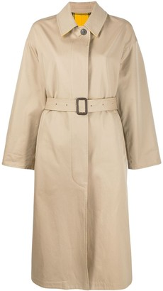 MACKINTOSH AMULREE Honey Cotton & Virgin Wool Oversized Reversible Trench Coat | LM-1014R