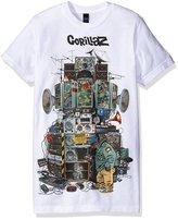 FEA Men's Gorillaz Multi Boom Boxes Soft T-Shirt