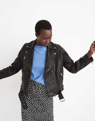 Madewell Oversized Leather Jacket
