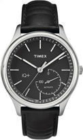 Timex Iq+ Move Unisex Black Smart Watch-Tw2p93200f5