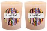 Qualitas Candles Jasmine Candles (6.5 OZ) (Set of 2)