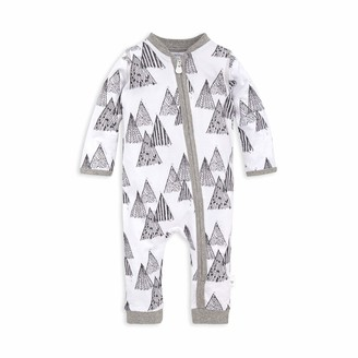 Burt's Bees Baby Baby Boys' Romper Jumpsuit 100% Organic Cotton One-Piece Coverall