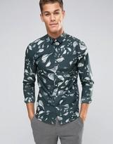Selected Slim Shirt In Print