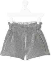 Fendi metallic (Grey) shorts