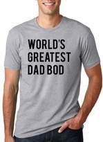 Crazy Dog T-shirts Crazy Dog Thirt Men World Greatet Dad Bod Hilariou Father' Day Thirt for Men