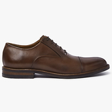 John Lewis Casual Toe Cap Oxford Shoes, Conker