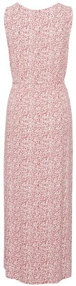 Ichi Sleeveless Jersey Dress in Rose - s