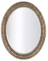 Lazy Susan Oval Decorative Wall Mirror Bronze