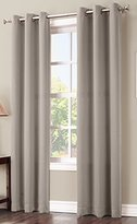 Sun Zero Easton Blackout Energy Efficient Grommet Curtain Panel, 40 x 84 Inch, Stone Beige