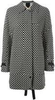 Christian Wijnants 'Joho' polka dots coat - women - Cotton/Polyester/Spandex/Elastane/Viscose - 36