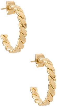 Cloverpost Loaf Hoop Earrings