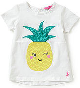 Joules Baby/Little Girls 12 Months-3T Pineapple Short-Sleeve Tee