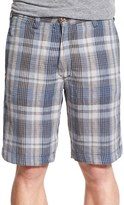 Tailor Vintage Men's Reversible Linen Shorts