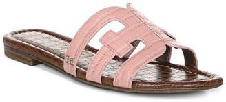 Sam Edelman Bay Croc Embossed Sandal