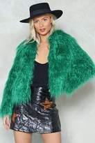 Nasty Gal nastygal Fur All the World Faux Fur Coat