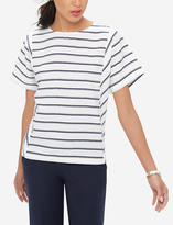 The Limited Striped Dolman Sleeve Top