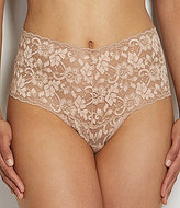 Hanky Panky Cross-Dyed Retro Floral Lace Thong