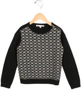Bonpoint Girls' Wool Patterned Sweater