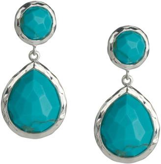 Ippolita 925 Rock Candy Snowman Earrings in Turquoise