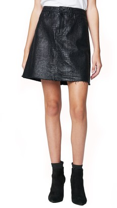 Blank NYC BLANKNYC A-Line Miniskirt